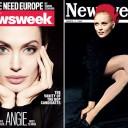 Преемственность: обложка с Анжелиной Джоли от 15 декабря 2011 года навеяна знаменитой обложкой с Фэй Данауэй от 4 марта 1968 года.