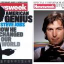 Две обложки, посвященные Стиву Джобсу.