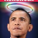 """После принятия закона о браках среди гомосексуалистов, Newsweek назвал Обаму """"президентом Геев"""""""