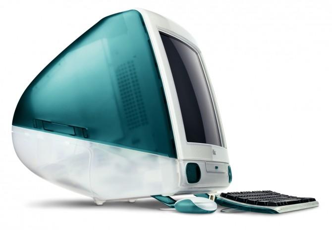 Успех iMac'а уж точно никак не был связан с ростом емкости жестких дисков…